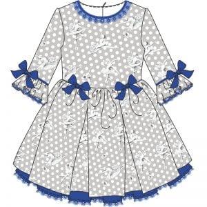 Vestido clasico - Amaia cubo Design Studio