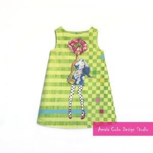 Nueva colección de ropa de niña - amaia cubo design studio